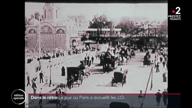 Dans le rétro : en 1900, durant l'exposition universelle, Paris a accueilli les Jeux Olympiques
