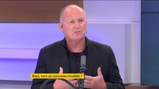 Walter Kadnar PDG d'Ikea France (22 juin 2021). (FRANCEINFO/RADIO FRANCE)