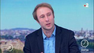 L'épidémiologiste Martin Blachier. (France 2)