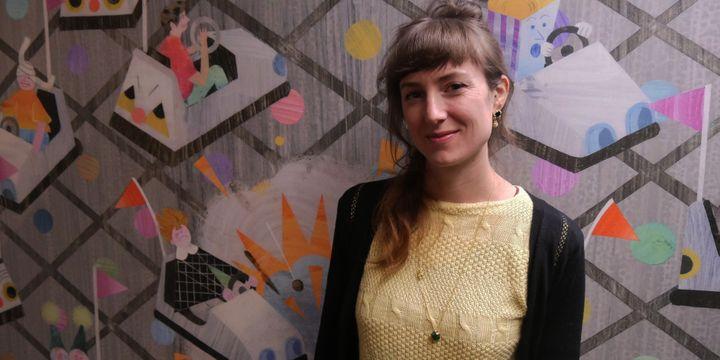 Annabelle Buxton, 30 novembre 2017, Salon de Montreuil  (Laurence Houot / Culturebox)