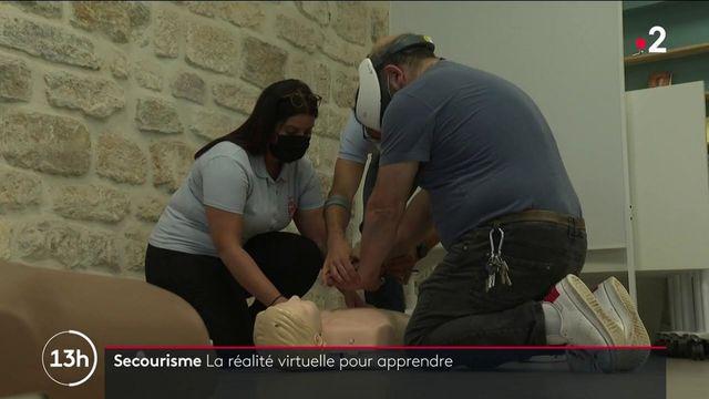 Secourisme : une formation en réalité virtuelle à Paris