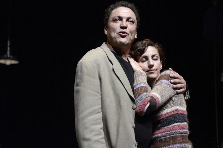 Ahmed et sa femme Leïla  ( Eric Didym)