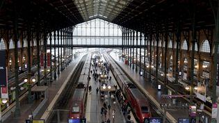 La gare du Nord, à Paris, le 11 janvier 2019. (ERIC PIERMONT / AFP)