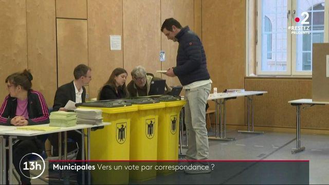 Muncipales : sera-t-il possible de voter par correspondance lors du second tour ?
