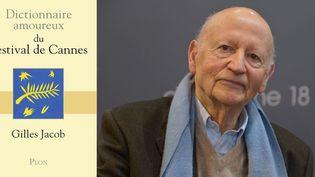 """Gilles Jacob publie le """"Dictionnaire amoureux du Festival de Cannes"""" (Plon)  (A droite, photo Isa Harsin / SIPA)"""