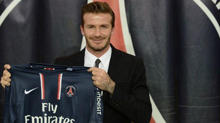 Beckham assistera ce soir au match du PSG contre Valence (FRANCK FIFE / AFP)