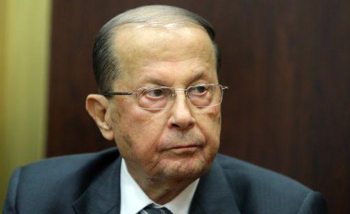 Michel Aoun, député, partisan d'un accord avec le Hezbollah. (JOSEPH EID / AFP)