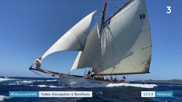 Navigation : des voiles d'exception font escale à Bonifacio
