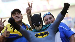 (Supporters en costume, détournements de buts, les supporteurs sont inspirés cette année © REUTERS/Kai Pfaffenbach)