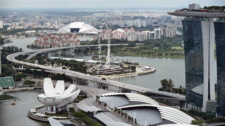 Vue de Singapour, le 20 novembre 2014. (ROSLAN RAHMAN / AFP)