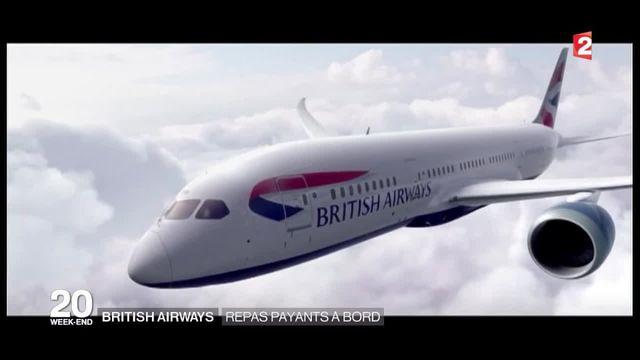 British Airways  : la direction supprime les repas gratuits