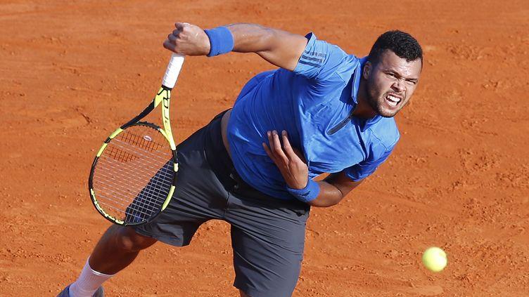 Le joueur français Jo-Wilfried Tsonga (VALERY HACHE / AFP)