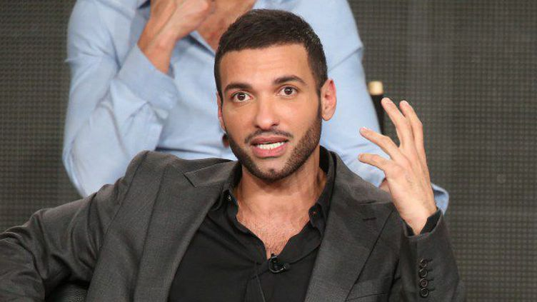 Le comédien Haaz Sleiman lors de la présentation à la presse de«Killing Jesus». (Frederik M. Brown /  Getty images AFP)