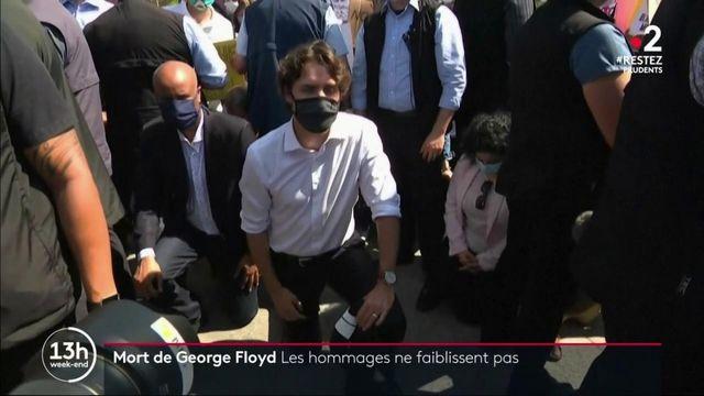 Mort de George Floyd : les hommages ne faiblissent pas