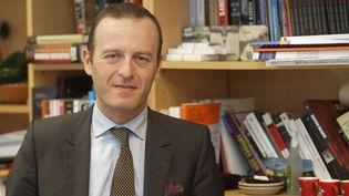 Thomas Gomart, directeur de l'Institut français des relations internationales, le 15 mars 2018. (DANIEL FOURAY / MAXPPP)