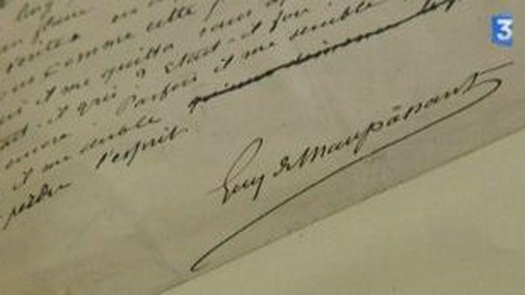 Pierre et Jean de Guy de Maupassant édité en manuscrit  (Culturebox)