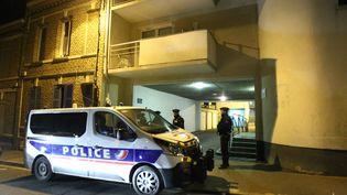 Le quartierd'Amiens (Somme) où a été interpellé le convoyeur de fonds Adrien Derbez, le 12 février 2019. (MAXPPP)
