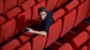 Emmanuel Demarcy-Mota, directeur du Théâtre de la ville à Paris et du Festival d'Automne, en 2016 à l'espace Cardin (CHRISTOPHE ARCHAMBAULT / AFP)
