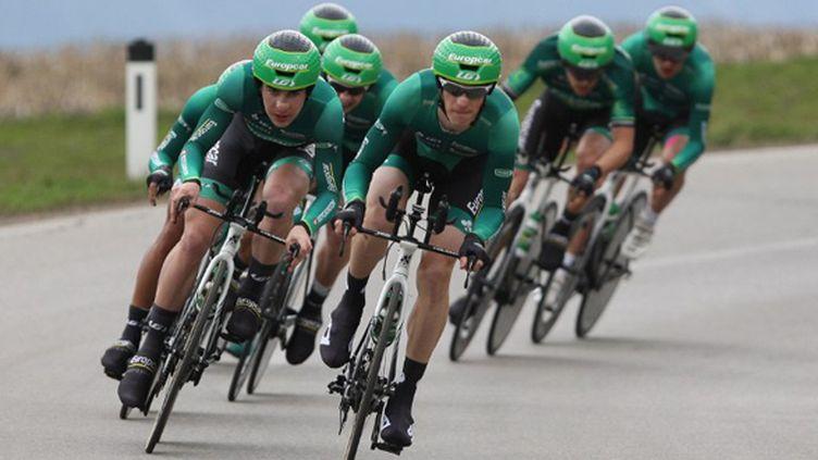 La formation Europcar (PIERRE TEYSSOT / AFP)