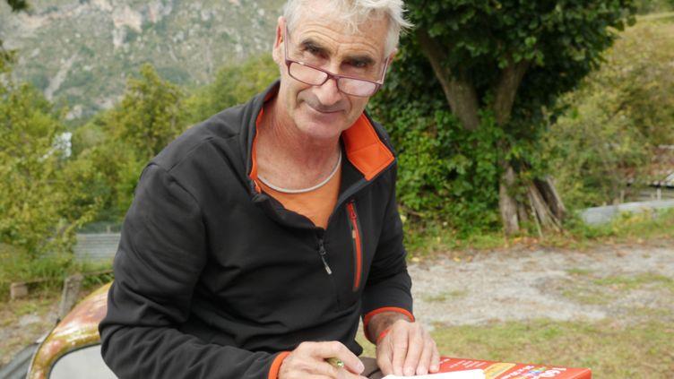 Le Français Hervé Gourdel, exécuté le 24 septembre 2014 par le groupe islamiste algérienJund Al-Khilafa. ( AFP )