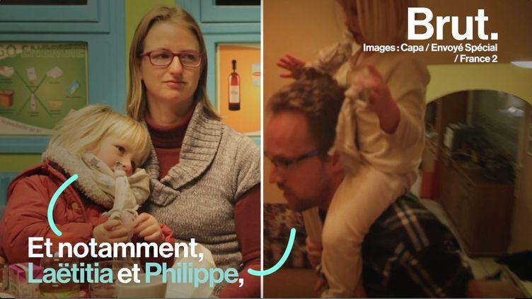 """Ce jeudi 7 mars, """"Envoyé Spécial"""" a diffusé un reportage qui dépeint le dur quotidien de ces parents surmenés. (BRUT)"""