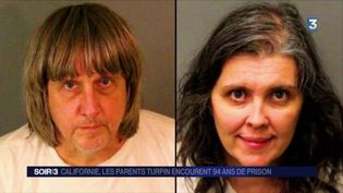 Le couple Turpin risque la prison à perpétuité. (FRANCE 3)