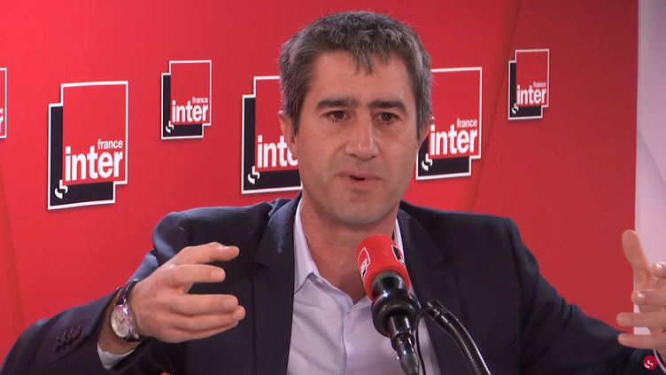 François Ruffin sur France Inter, le 6 novembre 2019. (FRANCE INTER)