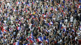 Les supporters français lors d'un match au Stade de France, en 2016. (GODONG / BSIP / AFP)
