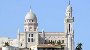 La basilique de Saint-Augustin à Annaba, dans l'est de l'Algérie a été inaugurée le 19 octobre 2013, au terme d'un chantier de plus de deux ans et demi  (FAROUK BATICHE / AFP)