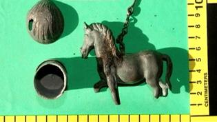 Objets découverts sur un site archéologique  (France 2 culturebox)