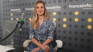 Marie Portolano, journaliste sportive. (SEBASTIEN BAER / RADIO FRANCE)