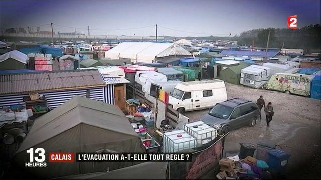 Calais : l'évacuation a-t-elle tout réglé ?