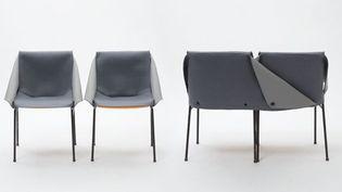 CE(ux) QUI RESTE(nt) : Une cérémonie d'hommage – Un habillage de chaise,Pierre Cloarec, Projet de diplôme, ENSCI-Les Ateliers, 2012  (Véronique Huygues)