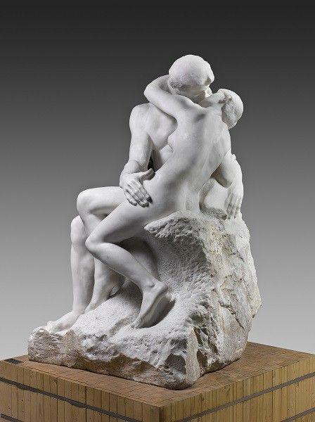 Auguste Rodin, Le Baiser, 1881-1882  (Musée Rodin)