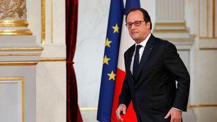 François Hollande, au palais de l'Elysée, le 22 juillet 2016. (PHILIPPE WOJAZER / REUTERS)