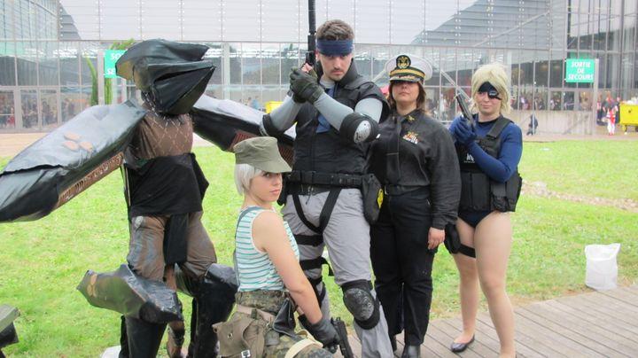 Pour les cosplayers, le plus important est de réaliser son costume soi-même. (FLORIANE LOUISON)