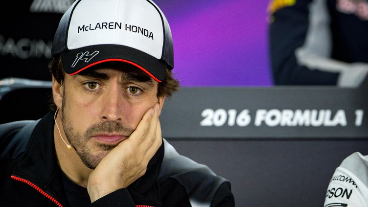 Fernando Alonso   (ANDREJ ISAKOVIC / AFP)