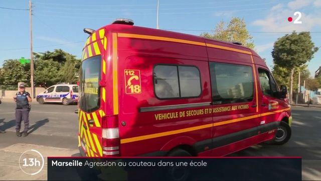 Marseille : agression au couteau dans une école