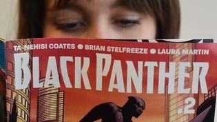 La nouvelle version de Black Panther est un phénomène d'édition aux USA.  (Timothy A.Clary / AFP)