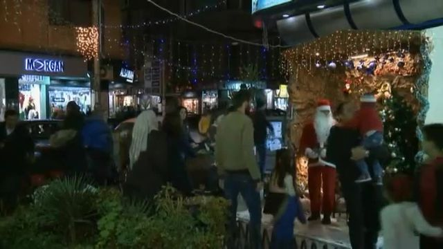 Les Chrétiens de la capitale syrienne ont bien fêté Noël