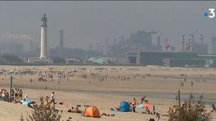 A Dunkerque les campings profitent d'une météo exceptionnelle - été 2018 (FRANCE 3)