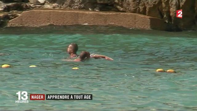 Natation : plus d'un français sur sept ne sait pas nager