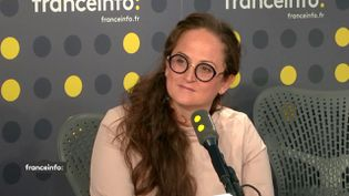L'hydrologue Emma Haziza était l'invitée de franceinfo lundi 22 juillet 2019. (FRANCEINFO)