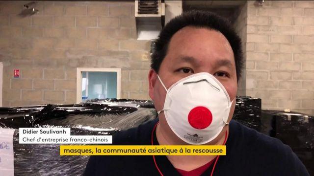 Masques : la communauté asiatique à la rescousse