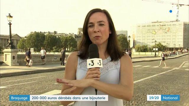 Braquage : 200 000 euros dérobés dans une bijouterie parisienne