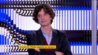 Le journaliste Paolo Levi (FRANCEINFO)