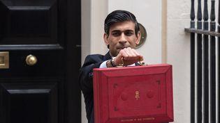 Le Chancelier de l'Echiquier Rishi Sunak, le 3 mars 2021 à Londres. (WIKTOR SZYMANOWICZ / NURPHOTO / AFp)