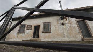 Les restes appartiennent à des victimes exécutées au camp de Natzwiller-Struthof (Bas-Rhin). (PATRICK SEEGER / AFP)