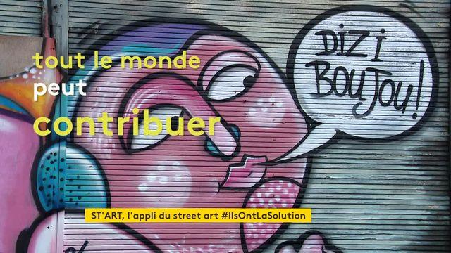 ST'ART, une application qui expose le street art dans un musée virtuel