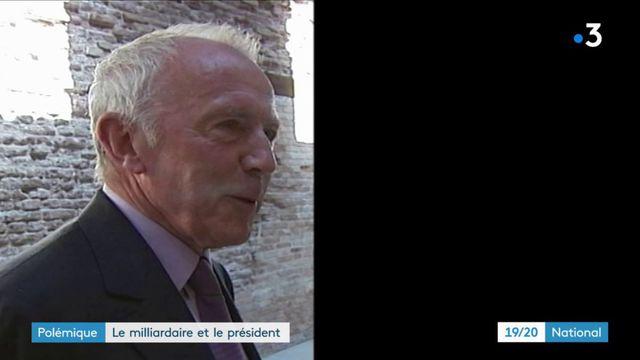 Le tacle du milliardaire François Pinault à Emmanuel Macron